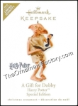 Gift for Dobby - 2010 Harry Potter Hallmark Keepsake Ornament