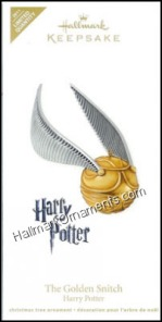 The Golden Snitch Hallmark Ornament