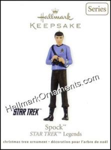 2011 Hallmark Ornament Spock