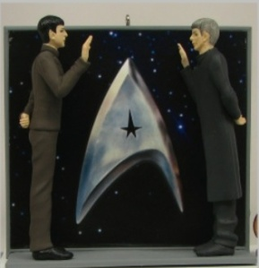 2012 Spocks Hallmark Ornament