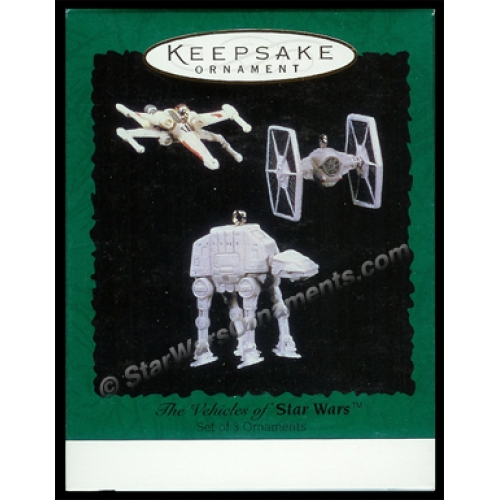 1996 Vehicles of Star Wars Hallmark Ornament